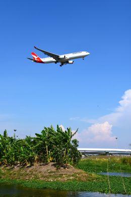 まいけるさんが、スワンナプーム国際空港で撮影したカンタス航空 A330-303の航空フォト(写真)