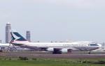 ansett767ksさんが、成田国際空港で撮影したキャセイパシフィック航空 747-2L5B(SF)の航空フォト(写真)