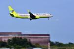 NIKKOREX Fさんが、成田国際空港で撮影したジンエアー 737-8SHの航空フォト(写真)
