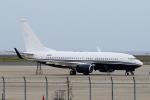 yabyanさんが、中部国際空港で撮影したアメリカ企業所有 737-7JR BBJの航空フォト(写真)
