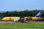 いっくんさんが、秋田空港で撮影した全日空 777-281/ERの航空フォト(写真)