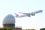 KIMISTONERさんが、台湾桃園国際空港で撮影したチャイナエアライン A350-900の航空フォト(写真)