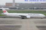 いおりさんが、羽田空港で撮影した日本航空 777-346/ERの航空フォト(写真)