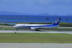 しかばねさんが、那覇空港で撮影した全日空 767-381の航空フォト(写真)