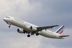 安芸あすかさんが、パリ オルリー空港で撮影したエールフランス航空 A321-111の航空フォト(写真)