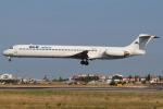 つみネコ♯2さんが、リスボン・ウンベルト・デルガード空港で撮影したALKエアラインズ MD-82 (DC-9-82)の航空フォト(写真)