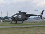 Snow manさんが、札幌飛行場で撮影した陸上自衛隊 OH-6Dの航空フォト(写真)