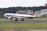 どりーむらいなーさんが、成田国際空港で撮影したシンガポール航空 777-312/ERの航空フォト(写真)