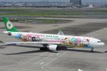 神宮寺ももさんが、羽田空港で撮影したエバー航空 A330-302Xの航空フォト(写真)