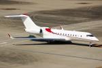 ばっきーさんが、羽田空港で撮影したAIRCRAFT OPERATIONS LIMITED BD-700 Global Express/5000/6000の航空フォト(写真)