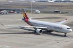 テクノジャンボさんが、羽田空港で撮影したアシアナ航空 A330-323Xの航空フォト(写真)