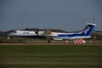 よしポンさんが、稚内空港で撮影したANAウイングス DHC-8-402Q Dash 8の航空フォト(写真)