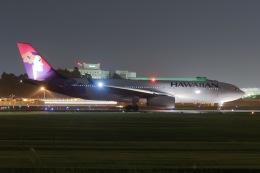 じゃがさんが、成田国際空港で撮影したハワイアン航空 A330-243の航空フォト(写真)