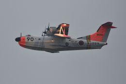 うめやしきさんが、厚木飛行場で撮影した海上自衛隊 US-1Aの航空フォト(写真)