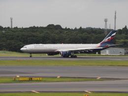 名無しの権兵衛さんが、成田国際空港で撮影したアエロフロート・ロシア航空 A330-343Xの航空フォト(写真)
