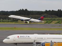 名無しの権兵衛さんが、成田国際空港で撮影したデルタ航空 757-26Dの航空フォト(写真)