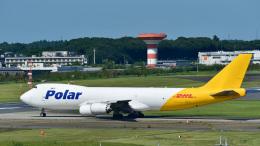 パンダさんが、成田国際空港で撮影したポーラーエアカーゴ 747-87UF/SCDの航空フォト(写真)