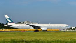 パンダさんが、成田国際空港で撮影したキャセイパシフィック航空 777-367/ERの航空フォト(写真)