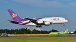 パンダさんが、成田国際空港で撮影したタイ国際航空 A380-841の航空フォト(写真)