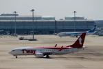 ハピネスさんが、関西国際空港で撮影したティーウェイ航空 737-8KNの航空フォト(写真)