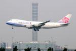 まいけるさんが、スワンナプーム国際空港で撮影したチャイナエアライン 747-409F/SCDの航空フォト(写真)