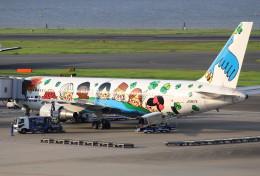 AKさんが、羽田空港で撮影した全日空 767-381の航空フォト(飛行機 写真・画像)