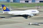 pikazouさんが、羽田空港で撮影したルフトハンザドイツ航空 747-830の航空フォト(写真)