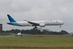ポン太さんが、成田国際空港で撮影したガルーダ・インドネシア航空 777-3U3/ERの航空フォト(写真)