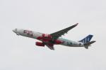 kix大好きカズチャマンさんが、関西国際空港で撮影したエアアジア・エックス A330-343Xの航空フォト(写真)