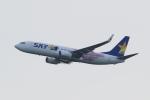 多楽さんが、茨城空港で撮影したスカイマーク 737-86Nの航空フォト(写真)