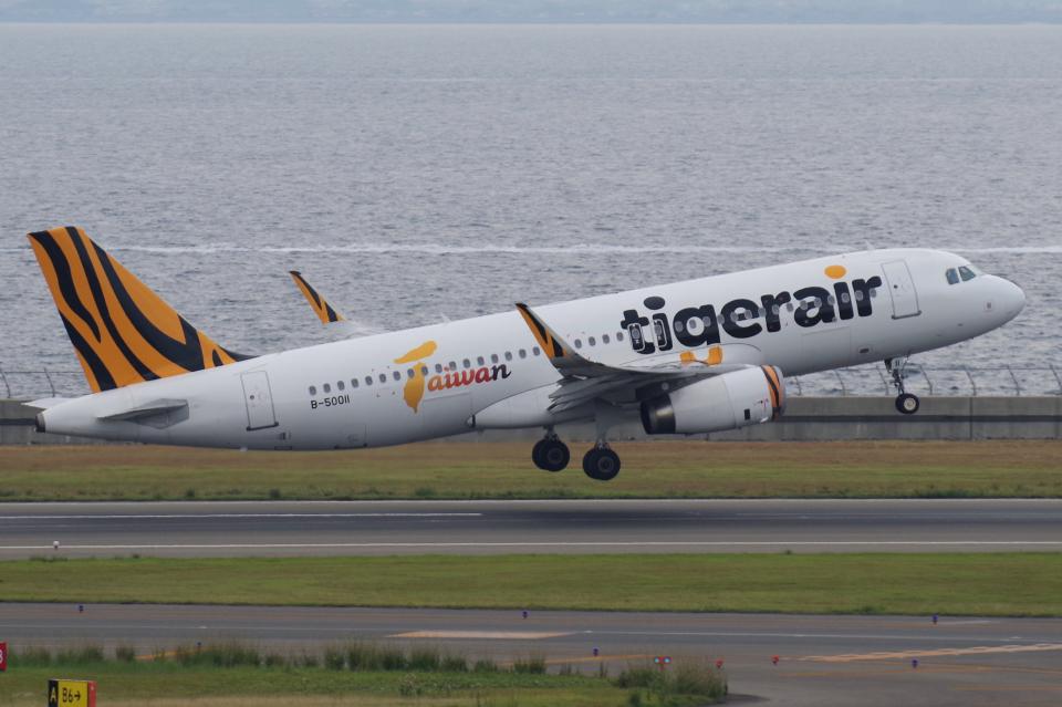 yabyanさんのタイガーエア台湾 Airbus A320 (B-50011) 航空フォト