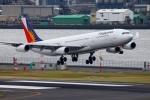 多摩川崎2Kさんが、羽田空港で撮影したフィリピン航空 A340-313Xの航空フォト(写真)
