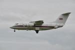 IL-18さんが、ノリッチ空港で撮影したイギリス空軍 BAe-146 CC2 (BAe-146-100 Statesman)の航空フォト(写真)