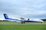 hikanagiさんが、秋田空港で撮影したANAウイングス DHC-8-402Q Dash 8の航空フォト(写真)