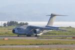 たまさんが、米子空港で撮影した航空自衛隊 C-2の航空フォト(写真)