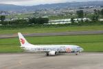 トラフィックナビゲーター・ヨッシーさんが、仙台空港で撮影した中国国際航空 737-86Nの航空フォト(写真)