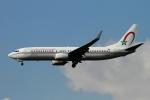 twining07さんが、ロンドン・ヒースロー空港で撮影したロイヤル・エア・モロッコ 737-8B6の航空フォト(写真)