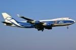 あしゅーさんが、成田国際空港で撮影したエアブリッジ・カーゴ・エアラインズ 747-4EVF/ER/SCDの航空フォト(飛行機 写真・画像)