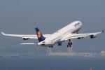 キイロイトリ1005fさんが、中部国際空港で撮影したルフトハンザドイツ航空 A340-313Xの航空フォト(写真)
