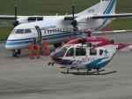 ナナオさんが、石見空港で撮影した島根県防災航空隊 BK117C-2の航空フォト(写真)