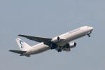 ポン太さんが、成田国際空港で撮影したビジネスエアー 767-383/ERの航空フォト(写真)