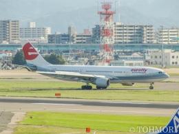 遠森一郎さんが、福岡空港で撮影したメリディアーナ・フライ A330-223の航空フォト(写真)
