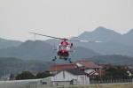 yuto1229さんが、出雲空港で撮影した島根県防災航空隊 BK117C-2の航空フォト(写真)