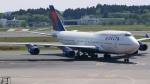 matt3さんが、成田国際空港で撮影したデルタ航空 747-451の航空フォト(写真)