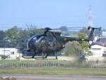 tetuさんが、札幌飛行場で撮影した陸上自衛隊 OH-6Dの航空フォト(写真)