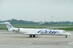 kanadeさんが、ワルシャワ・フレデリック・ショパン空港で撮影したアドリア航空 CL-600-2D24 Regional Jet CRJ-900の航空フォト(写真)