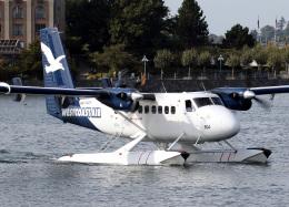 voyagerさんが、ビクトリア・インナーハーバー空港で撮影したウェスト・コースト・エア DHC-6-100 Twin Otterの航空フォト(飛行機 写真・画像)
