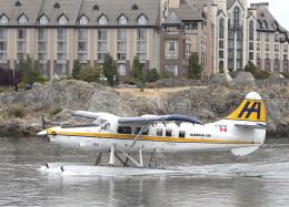 voyagerさんが、ビクトリア・インナーハーバー空港で撮影したハーバー・エア・シープレーンズ DHC-3T Vazar Turbine Otterの航空フォト(飛行機 写真・画像)