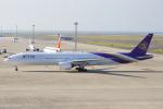 yabyanさんが、中部国際空港で撮影したタイ国際航空 777-3D7の航空フォト(飛行機 写真・画像)