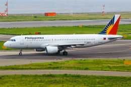 まくろすさんが、関西国際空港で撮影したフィリピン航空 A320-214の航空フォト(飛行機 写真・画像)